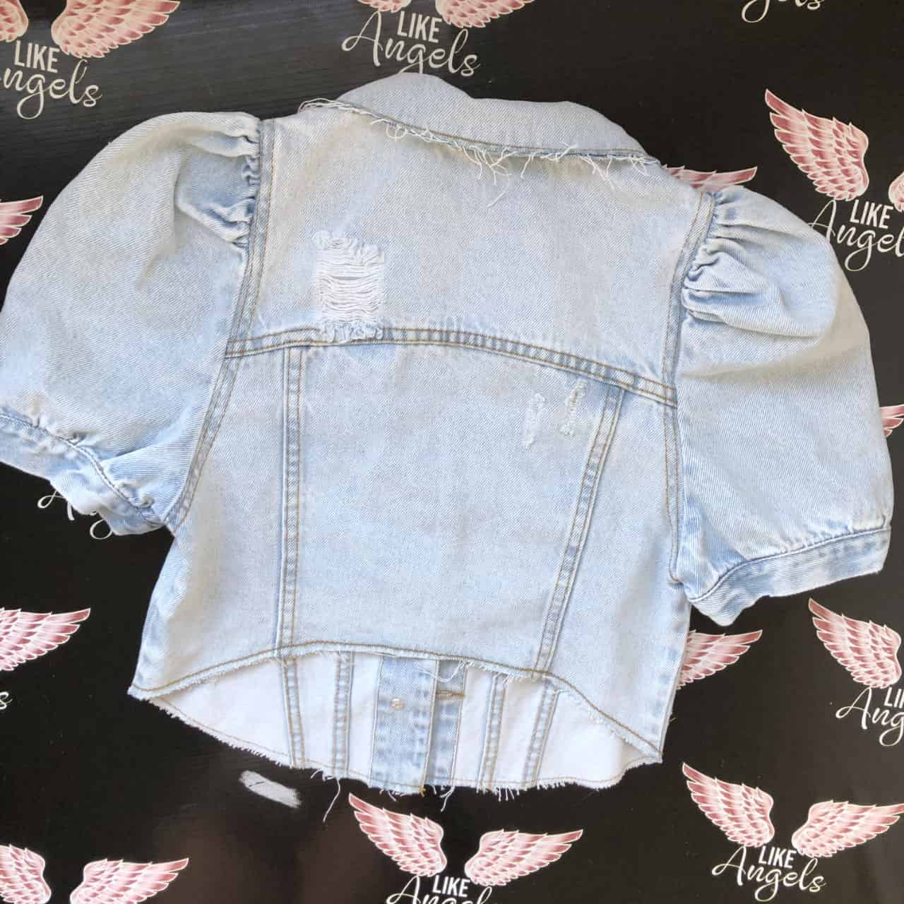 COLETE JEANS PUFF