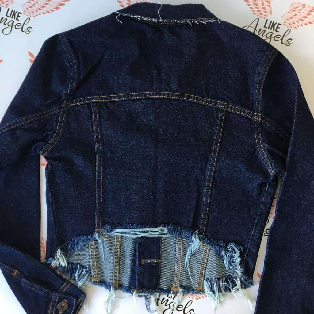 Jaqueta Cropped Original Denim