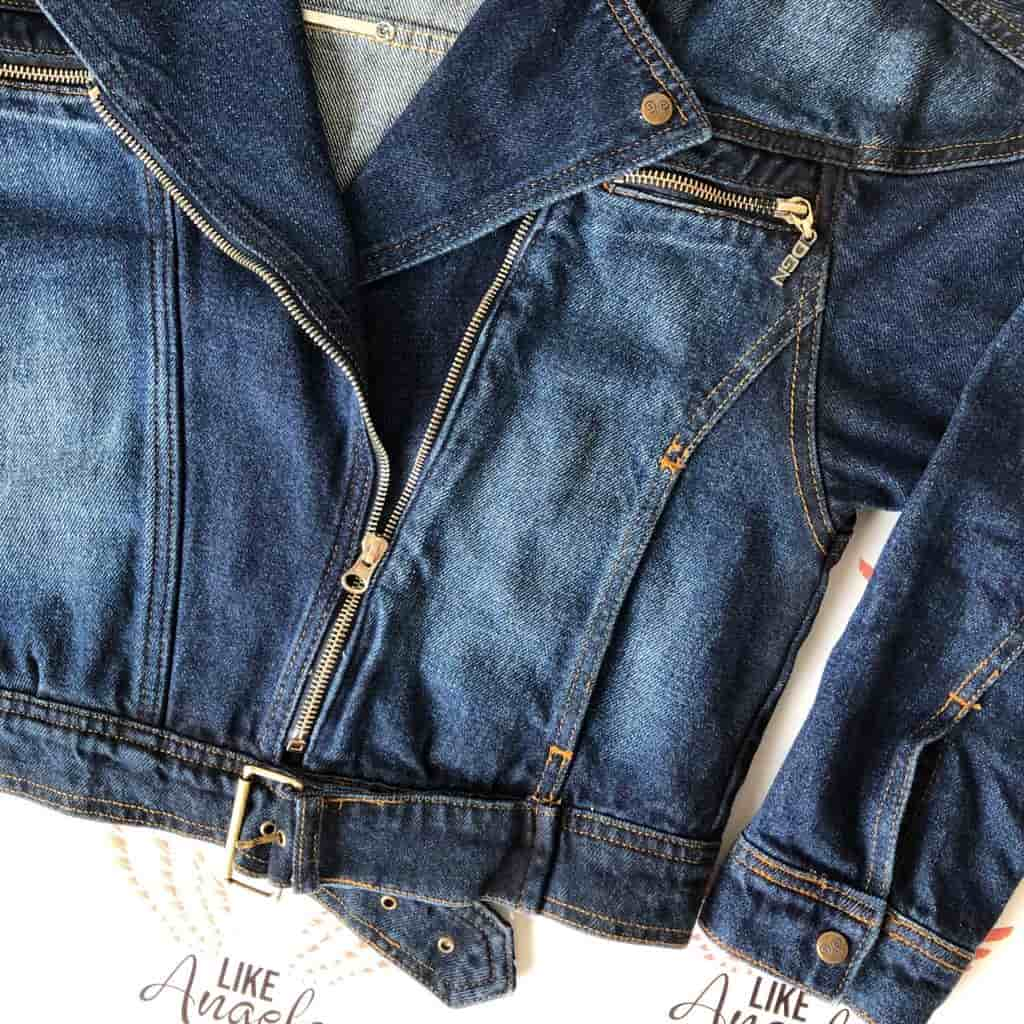 Jaqueta Jeans Motorcycle
