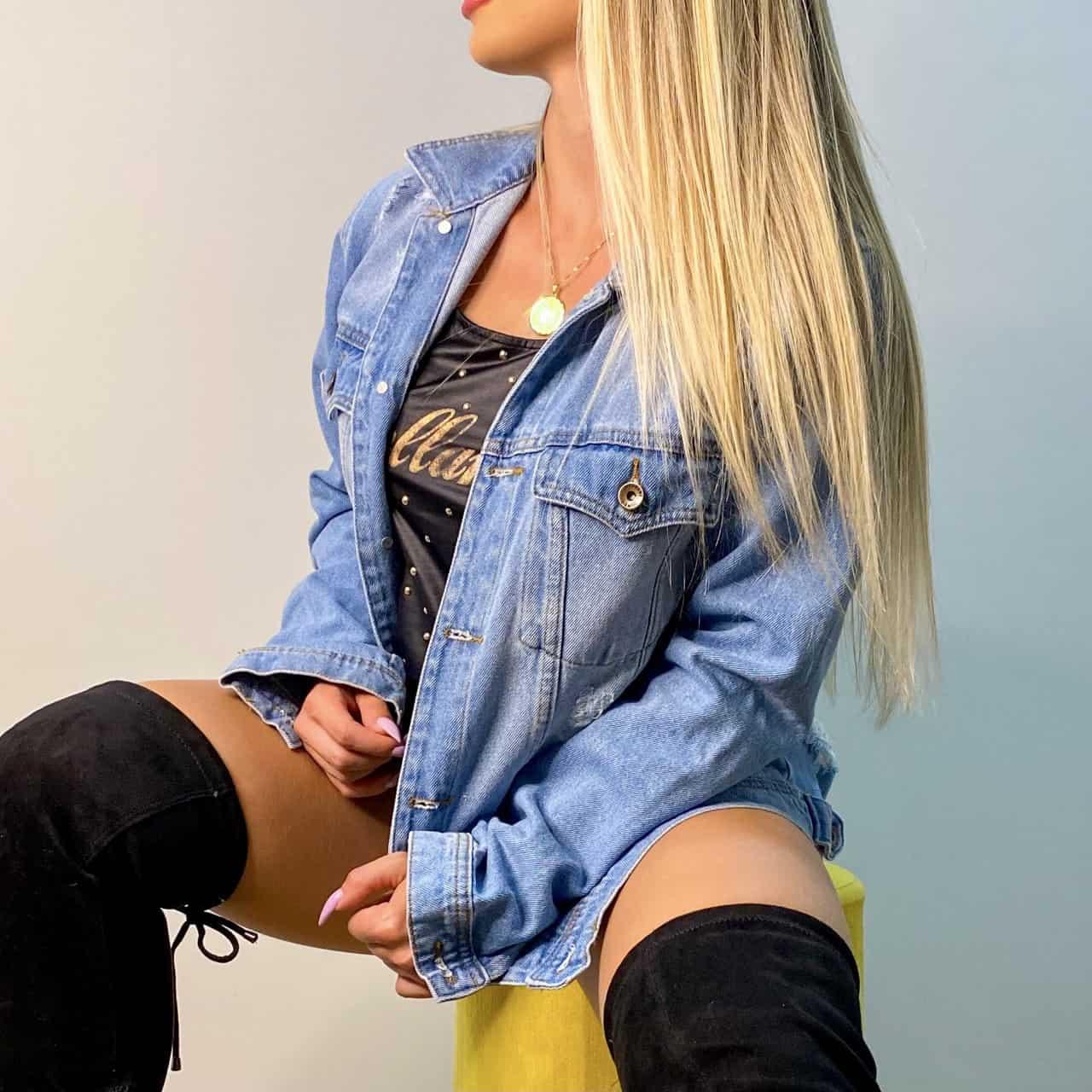 Jaqueta Jeans Max