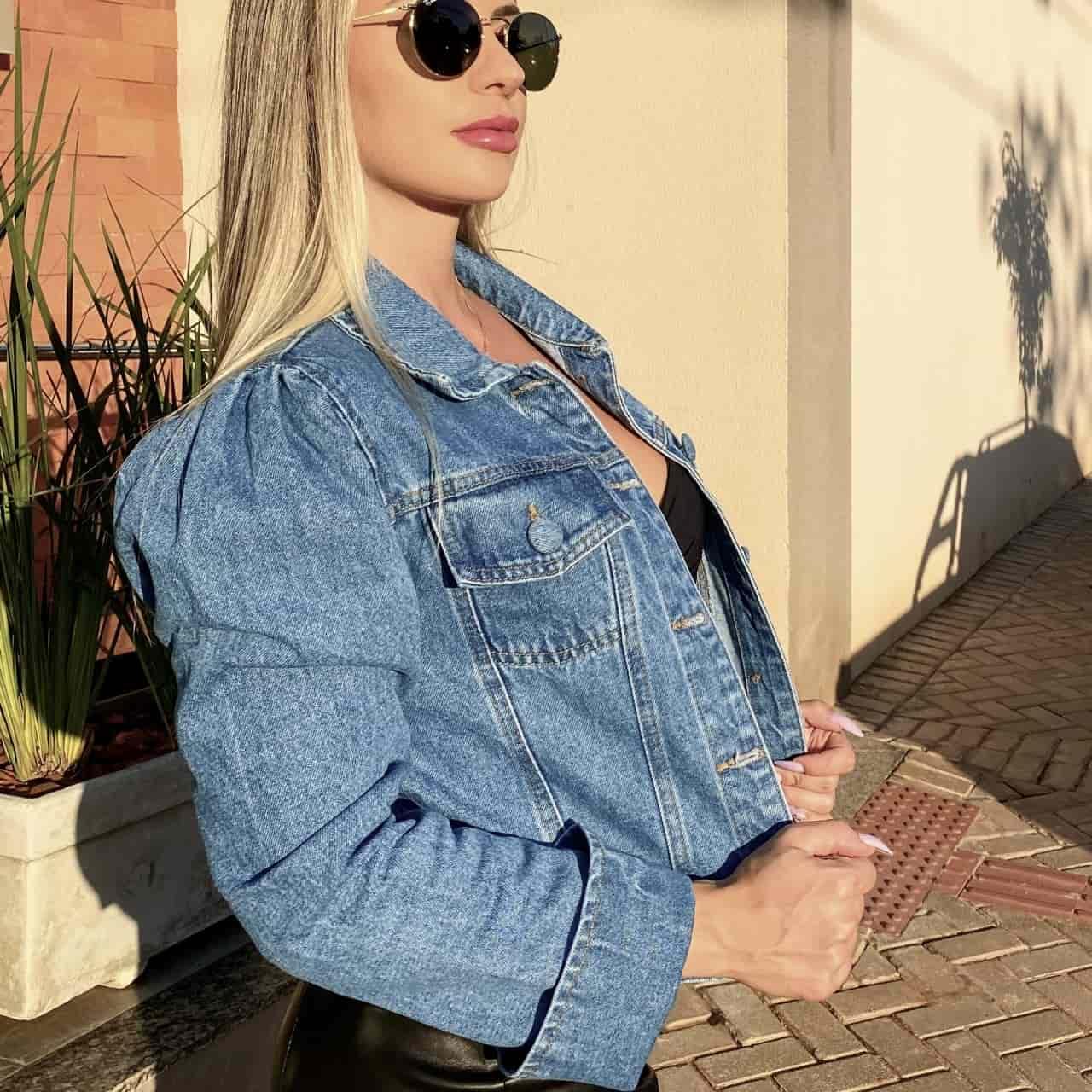 Jaqueta Jeans Princess