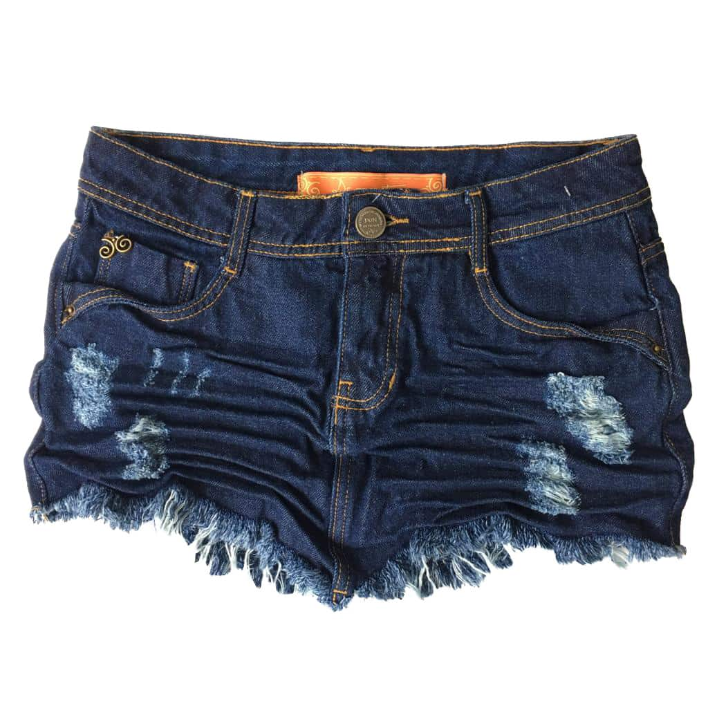 Saia Jeans Destroyed Original Denim