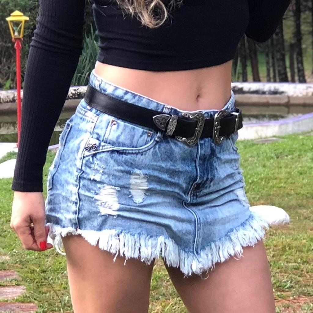 Saia Jeans Used Destroyed