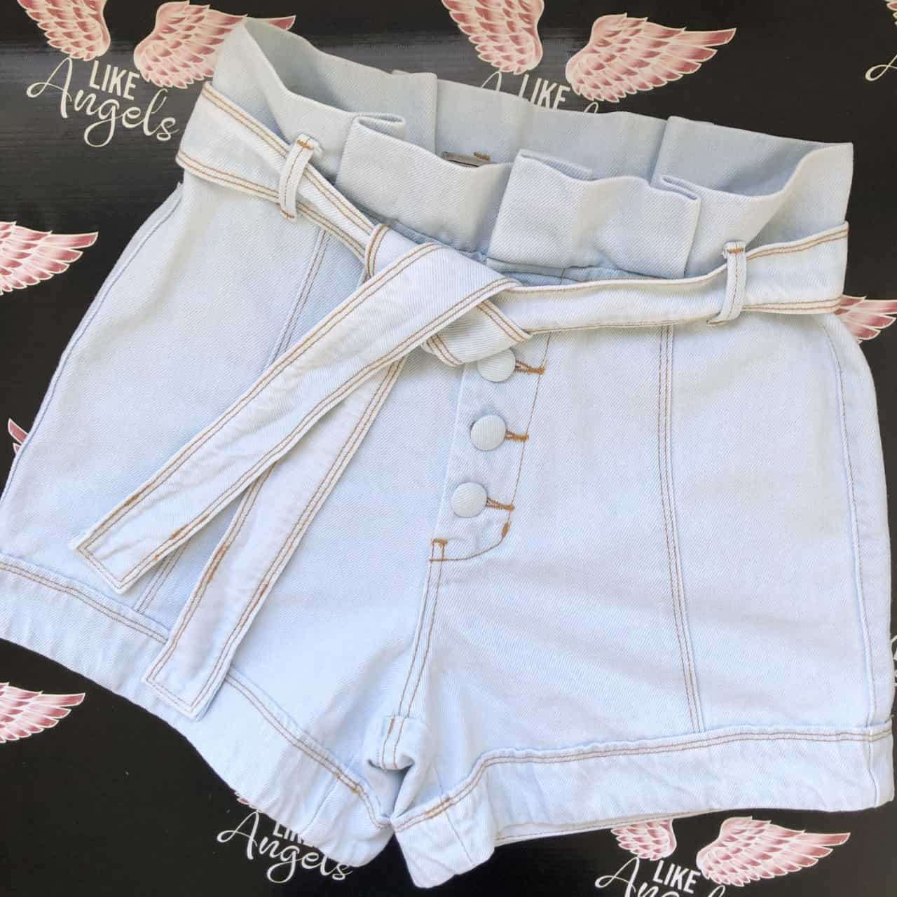 SHORT JEANS CLOCHARD