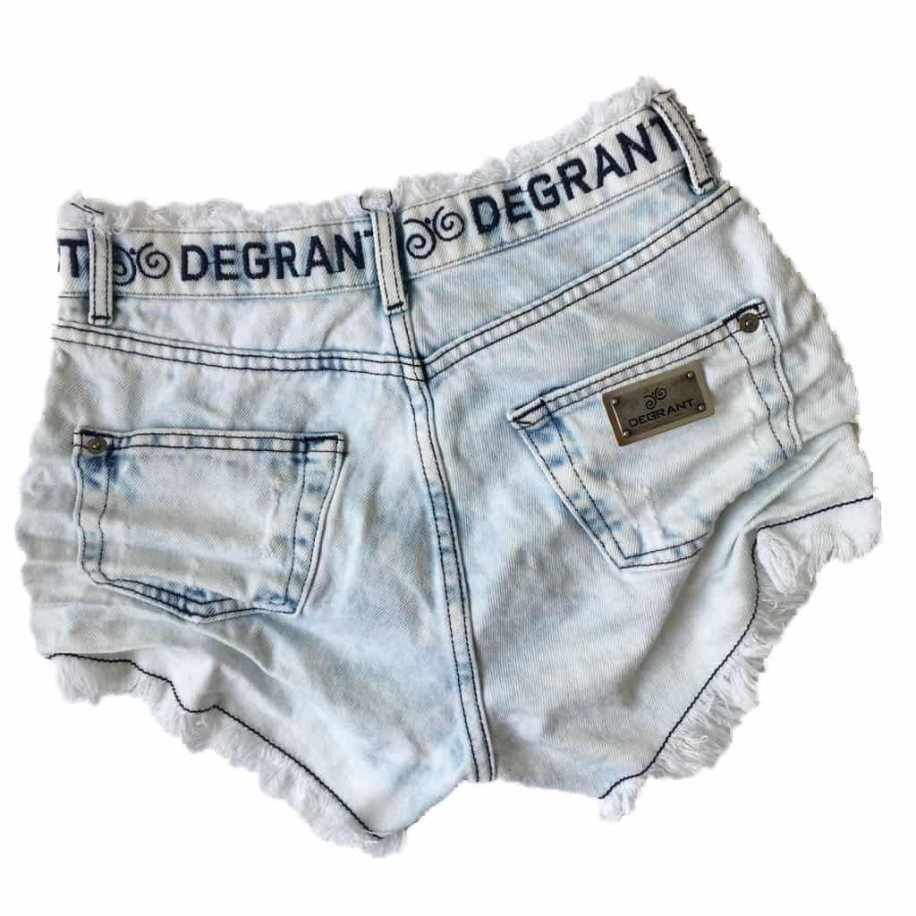 Short Jeans Degrant Cintura Alta Hardy