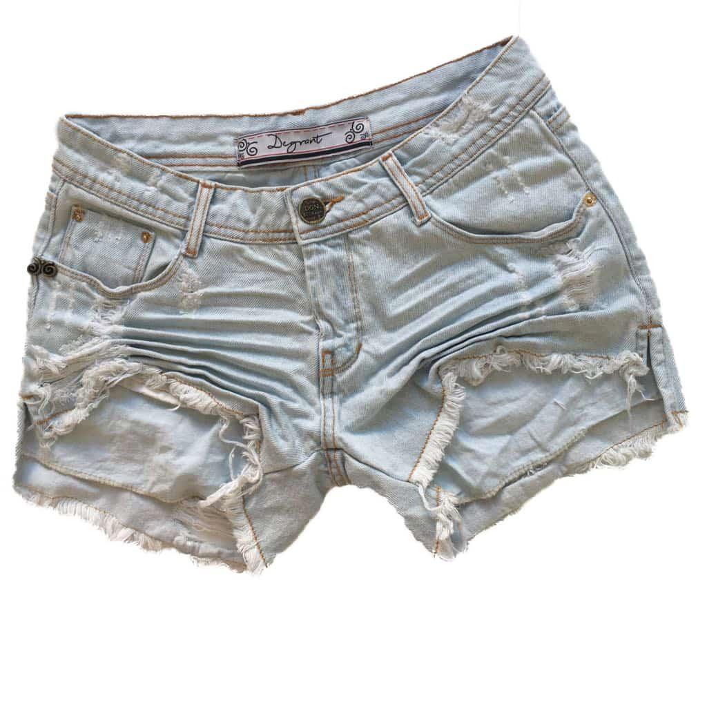 Short Jeans Degrant Master Destroyed Azul