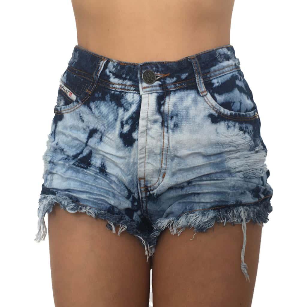Short Jeans Degrant Sky Spot Hot Pants
