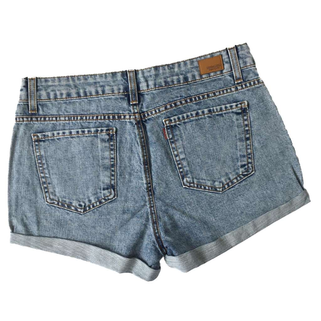 d950dfe0f19a0 ... Short Jeans Denim Zero Barra Dobrada Azul - Like Angels ...