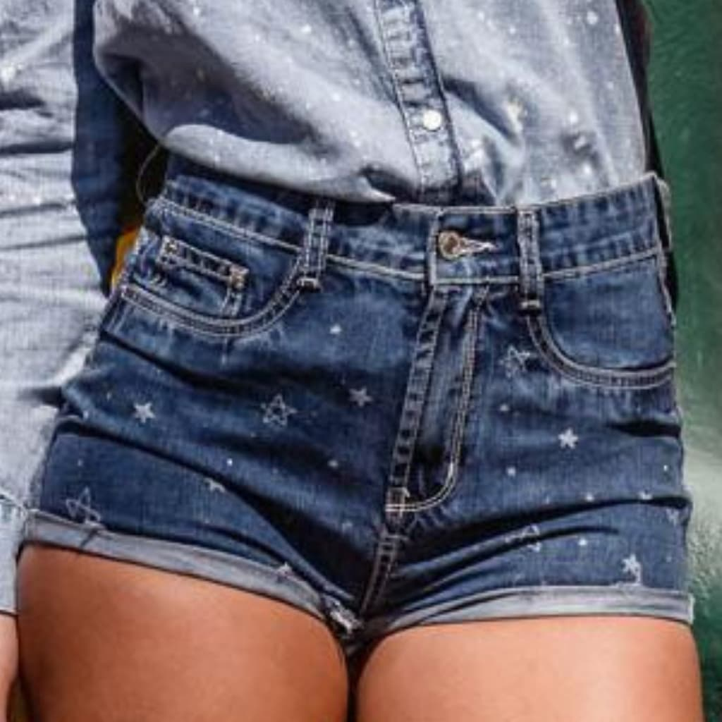 Short Jeans Denim Zero Star