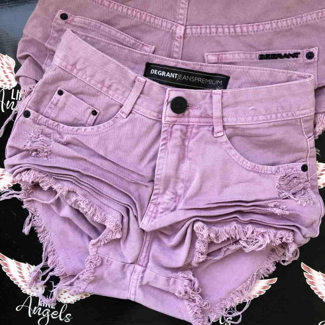 Short Jeans Feast Color LAVANDA