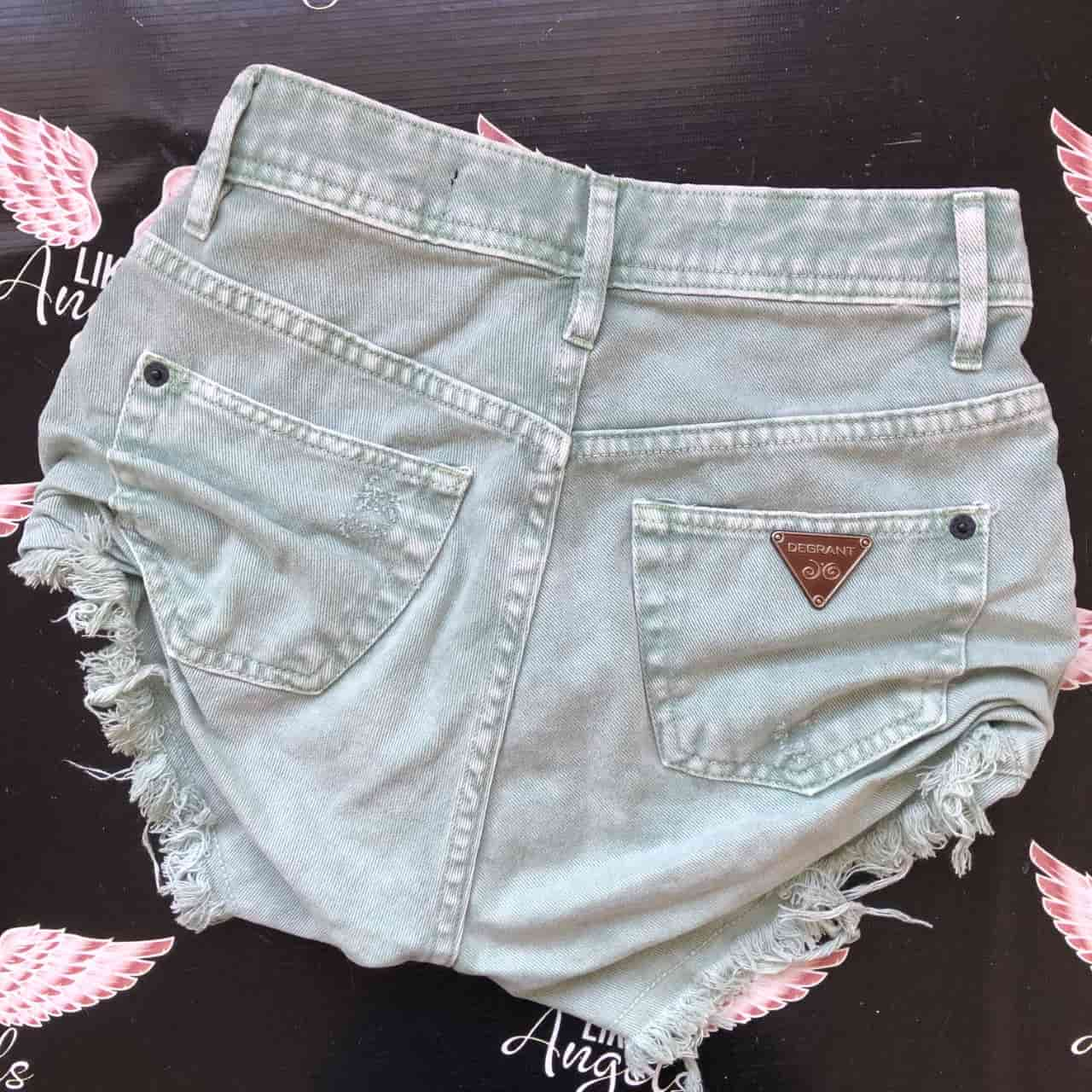 Short Jeans Feast Color VERDE PISTACHE