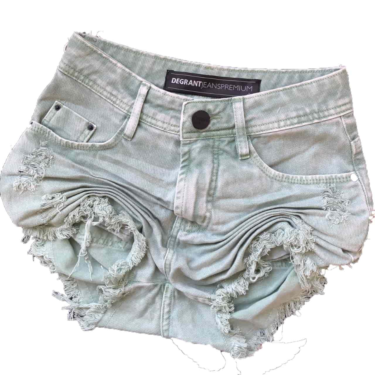 Short Jeans Feast Color VERDE PISTACHE