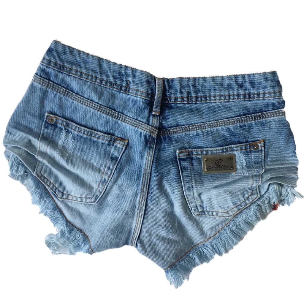 Short Jeans Degrant Destroyed Love
