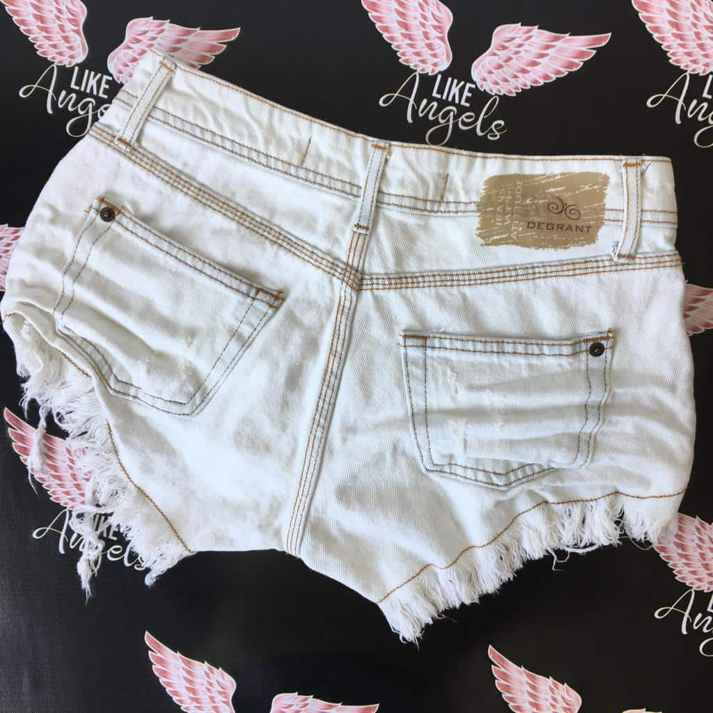 Short Jeans Off White