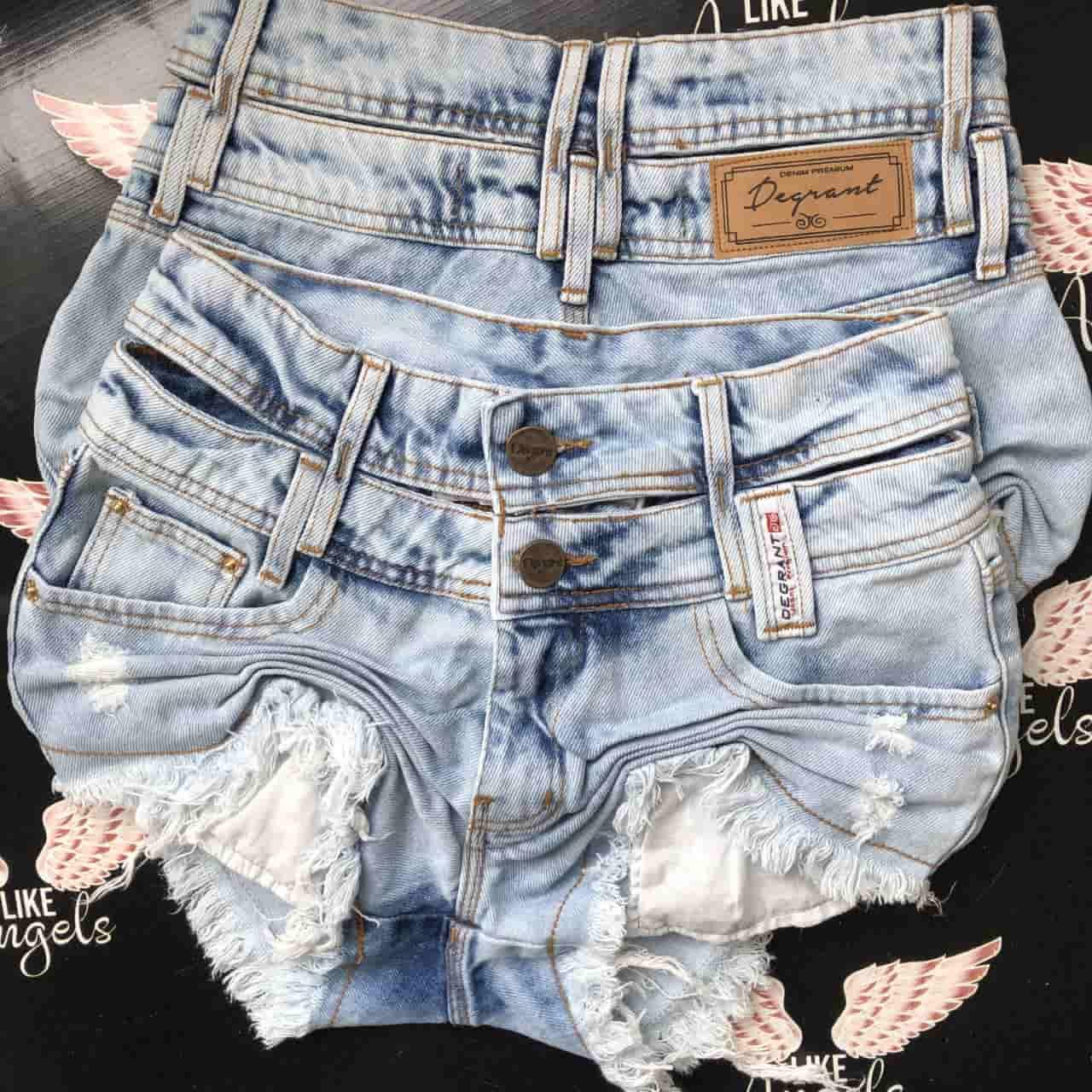 Short Jeans New Cós Duplo