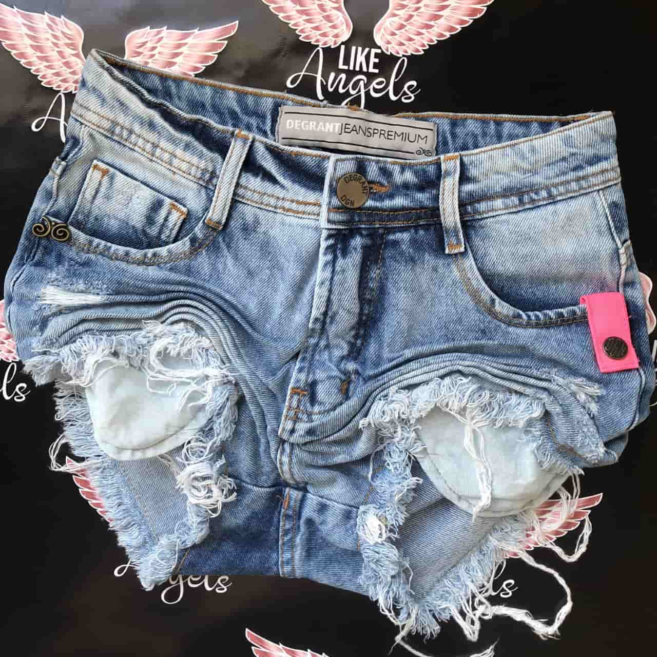 Short Jeans Pink Point