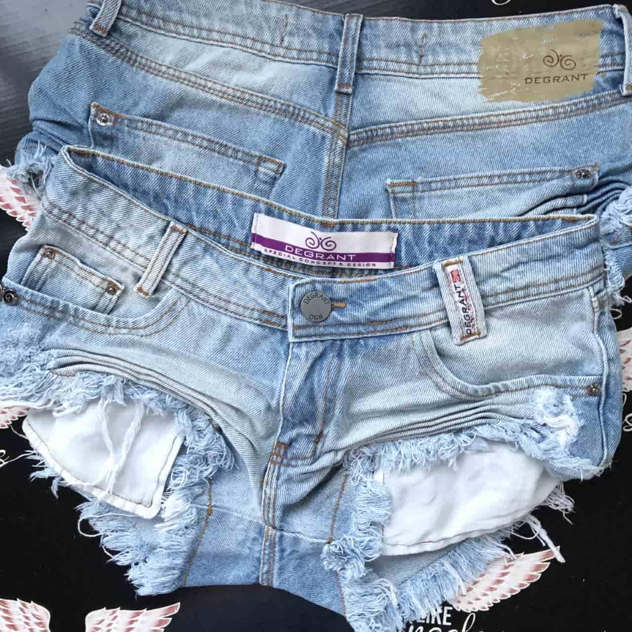 Short Jeans Sky Clean Destroyed