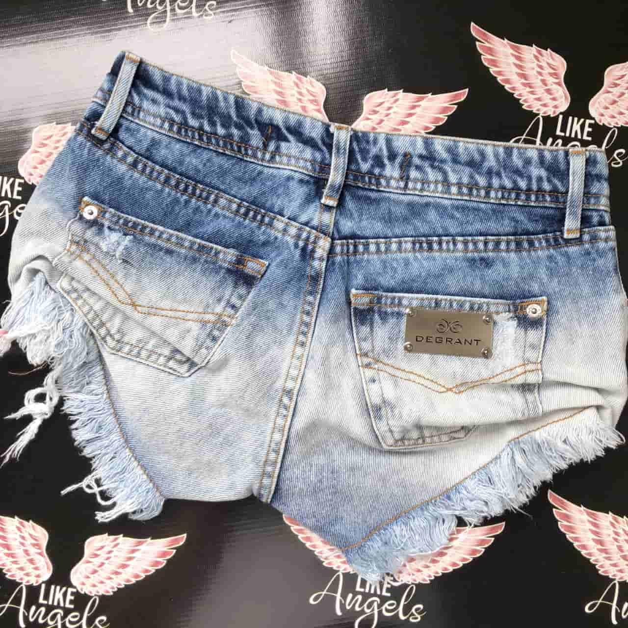 Short Jeans Sky Light