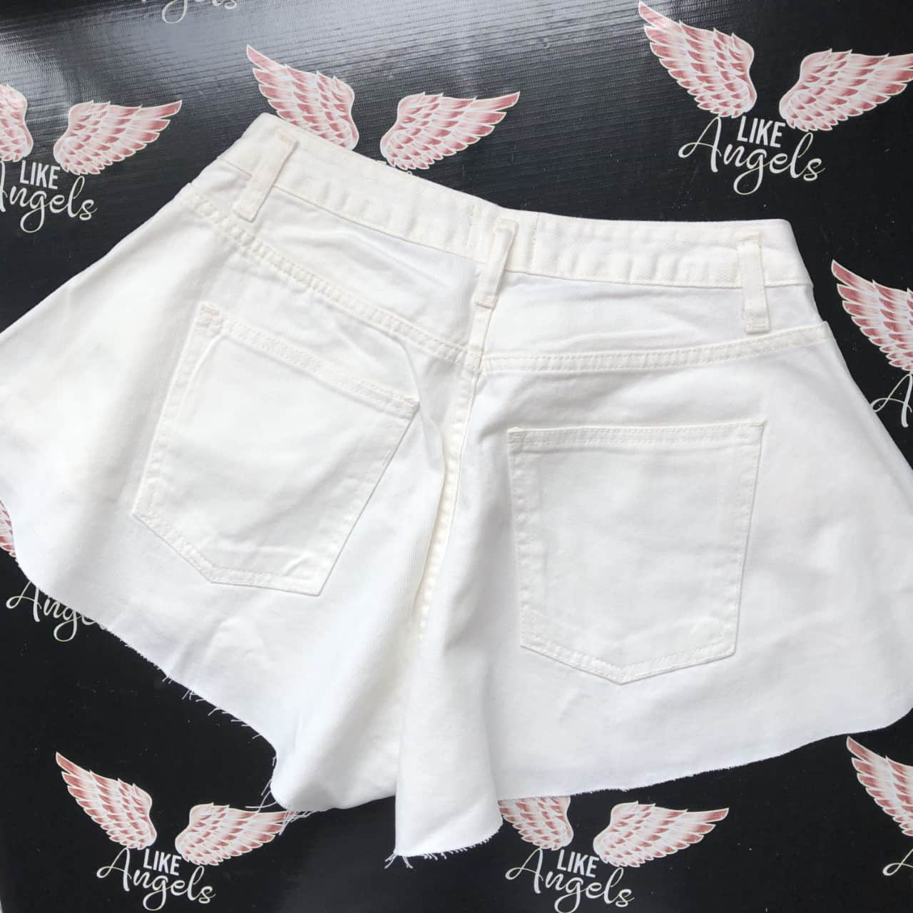 Short Jeans Wang Off White