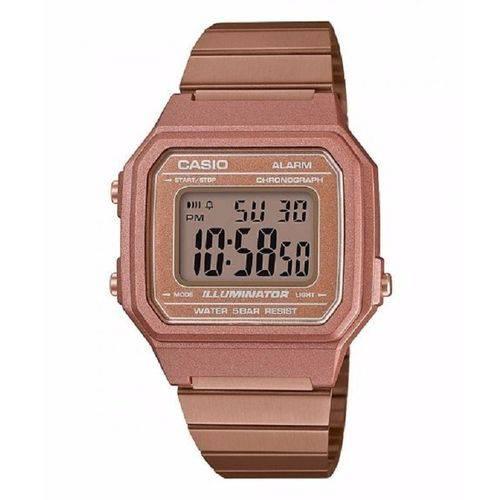 030afd7b554 Relógio Casio Feminino Vintage B650wc 5adf Rose Digital - Vitrine Open
