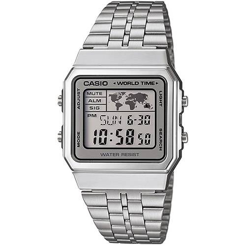 354e8cf6e3a Relógio Feminino Casio Vintage Digital Fashion A159WA-N1DF - Vitrine ...