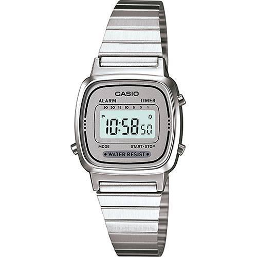 3aa7b679652 Relógio Feminino Casio Vintage Digital Fashion LA670WA-7DF - Vitrine ...