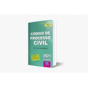 Código De Processo Civil 2021 - 6ª Edição - 2º Semestre - Série Neon