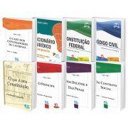 COMBO - Constituição federal + código civil + dicionário compacto + Clássicos