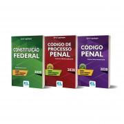 Combo Série Legislação 2020 - Código de Processo Penal / Código Penal / Constituição Federal