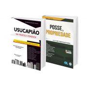 COMBO - Usucapião na Prática Forense + Posse & Propriedade