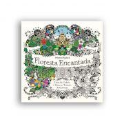 Floresta encantada - livro de colorir