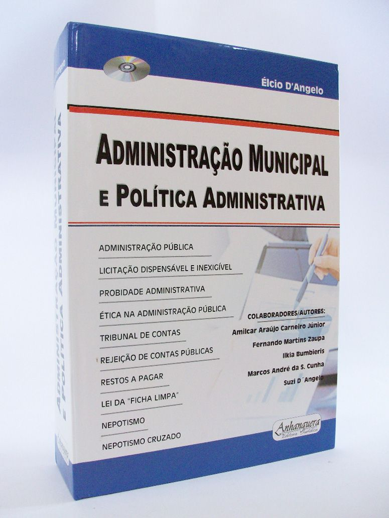 Administração Municipal e Política Administrativa  - Edijur Editora
