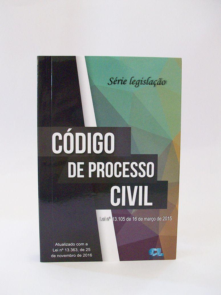 Código de Processo Civil  - Edijur Editora