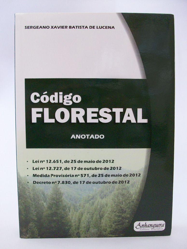 Código Florestal Anotado  - Edijur Editora