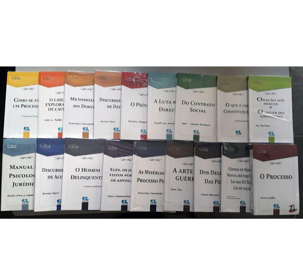 Combo Clássicos Série Cultura & Leitura - 18 volumes  - Edijur Editora
