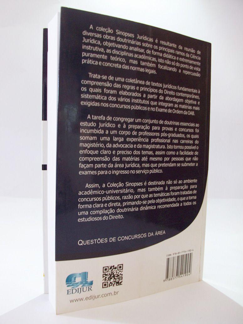 COMBO - Sinopses Jurídicas Direito Penal + Processo Penal  - Edijur Editora