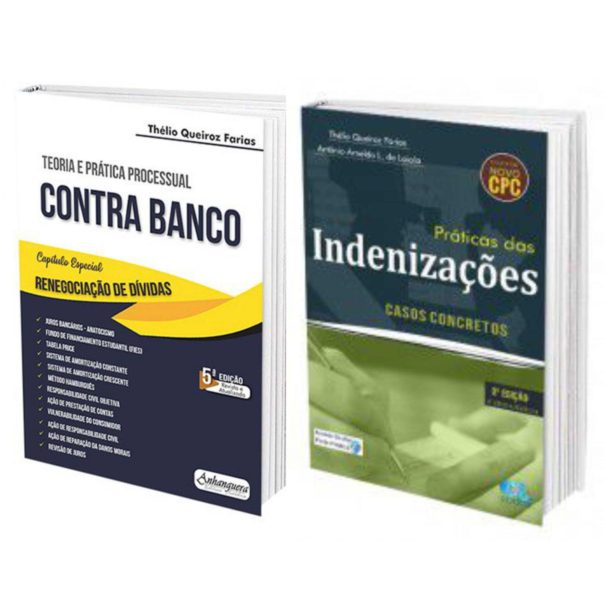 Combro Teoria e Prática Processual Civil Contra Banco + Práticas das Indenizações Casos Concretos  - Edijur Editora