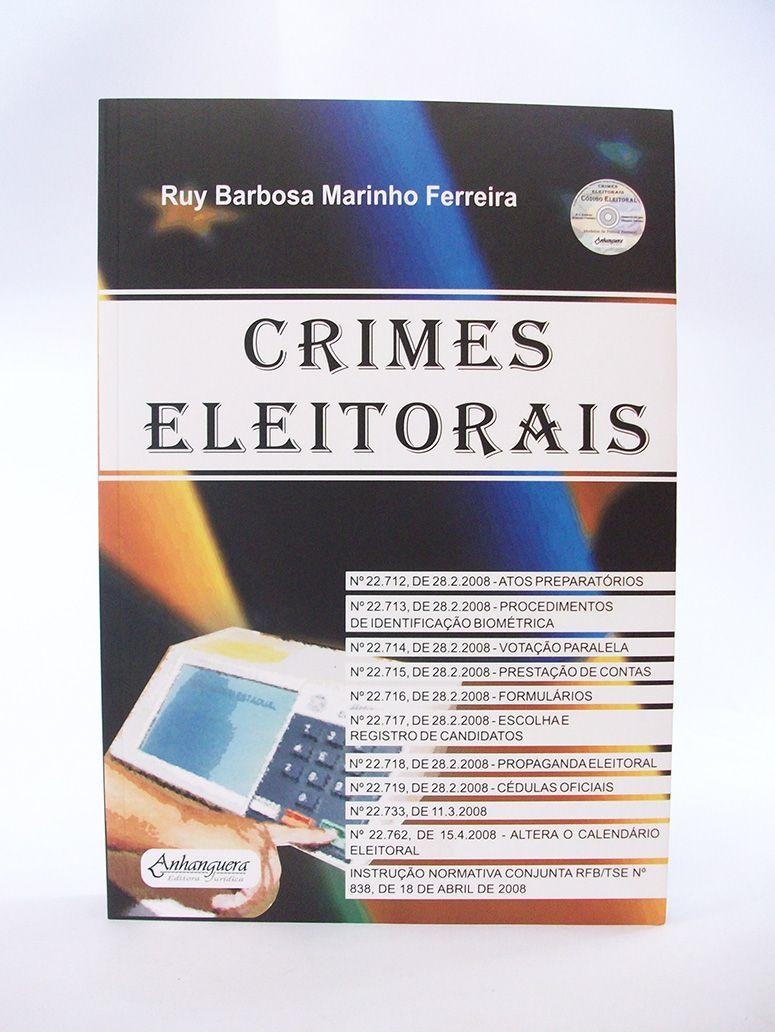 Crimes Eleitorais  - Edijur Editora