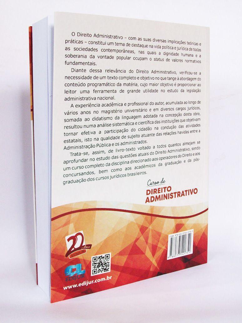 Curso de Direito Administrativo  - Edijur Editora