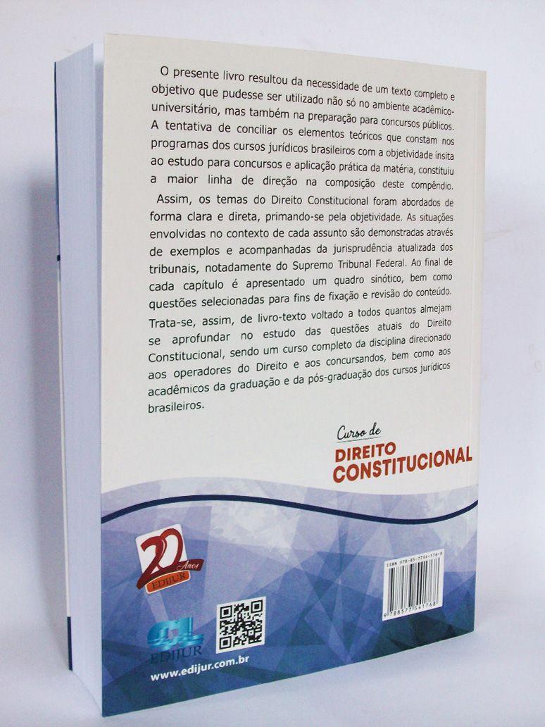 Curso de Direito Constitucional  - Edijur Editora