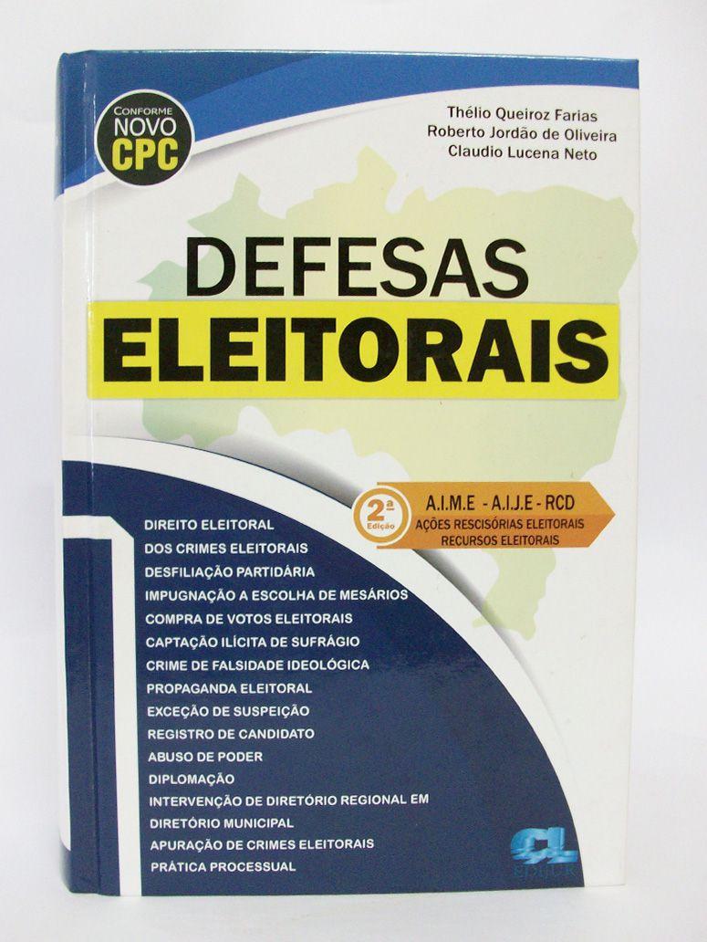 Defesas Eleitorais  - Edijur Editora