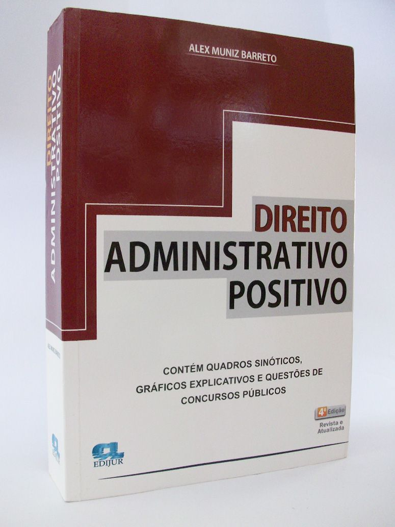 Direito Administrativo Positivo  - Edijur Editora