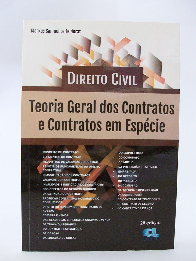 Direito Civil - Teoria Geral dos Contratos e Contratos em Espécie  - Edijur Editora