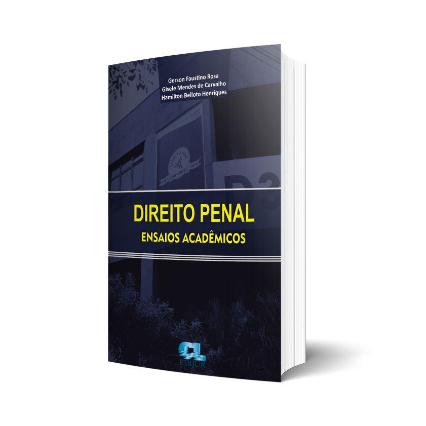 Direito Penal Ensaios Acadêmicos  - Edijur Editora