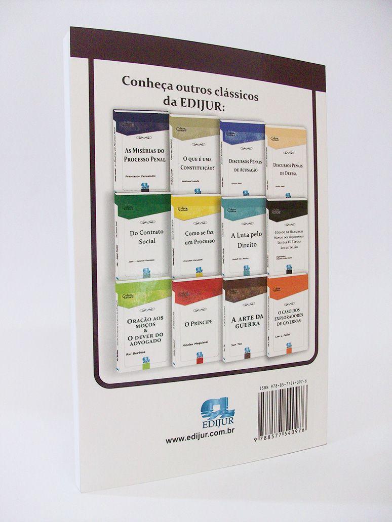 Dos Delitos e Das Penas - Cesare Beccaria  - Edijur Editora