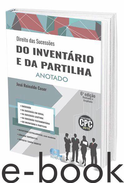 eBook Parte Prática - Direito das Sucessões do Inventário e da Partilha  - Edijur Editora