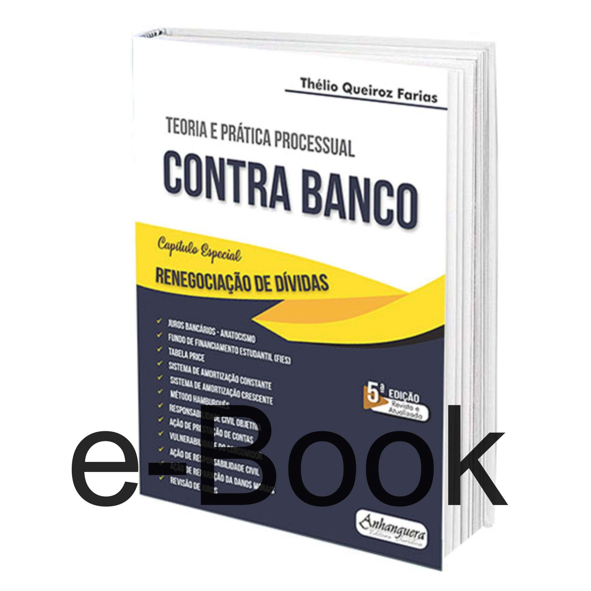 eBook Parte Prática - Teoria e Prática Contra Banco  - Edijur Editora