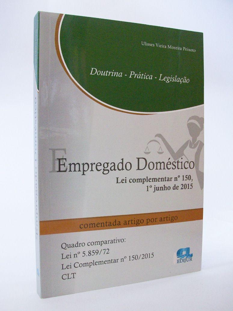Empregado Doméstico  - Edijur Editora