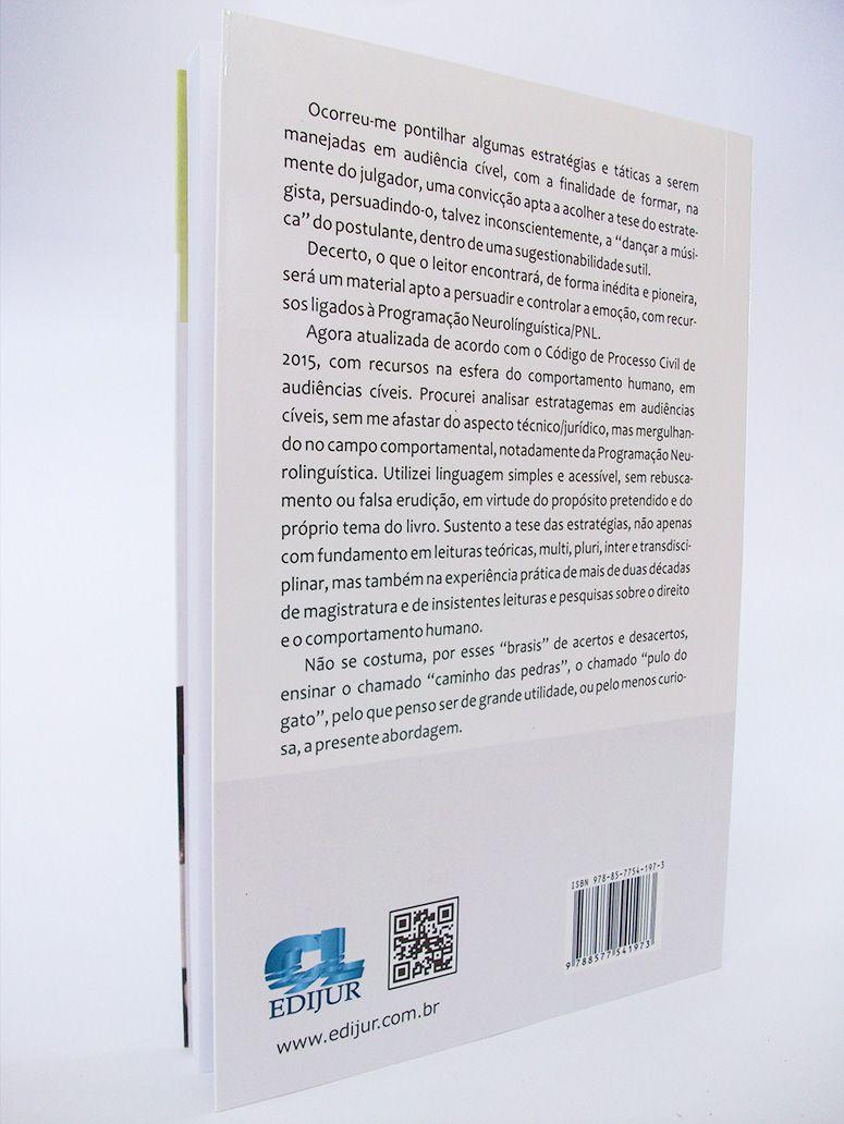 Estratégias em Audiência Cível  - Edijur Editora