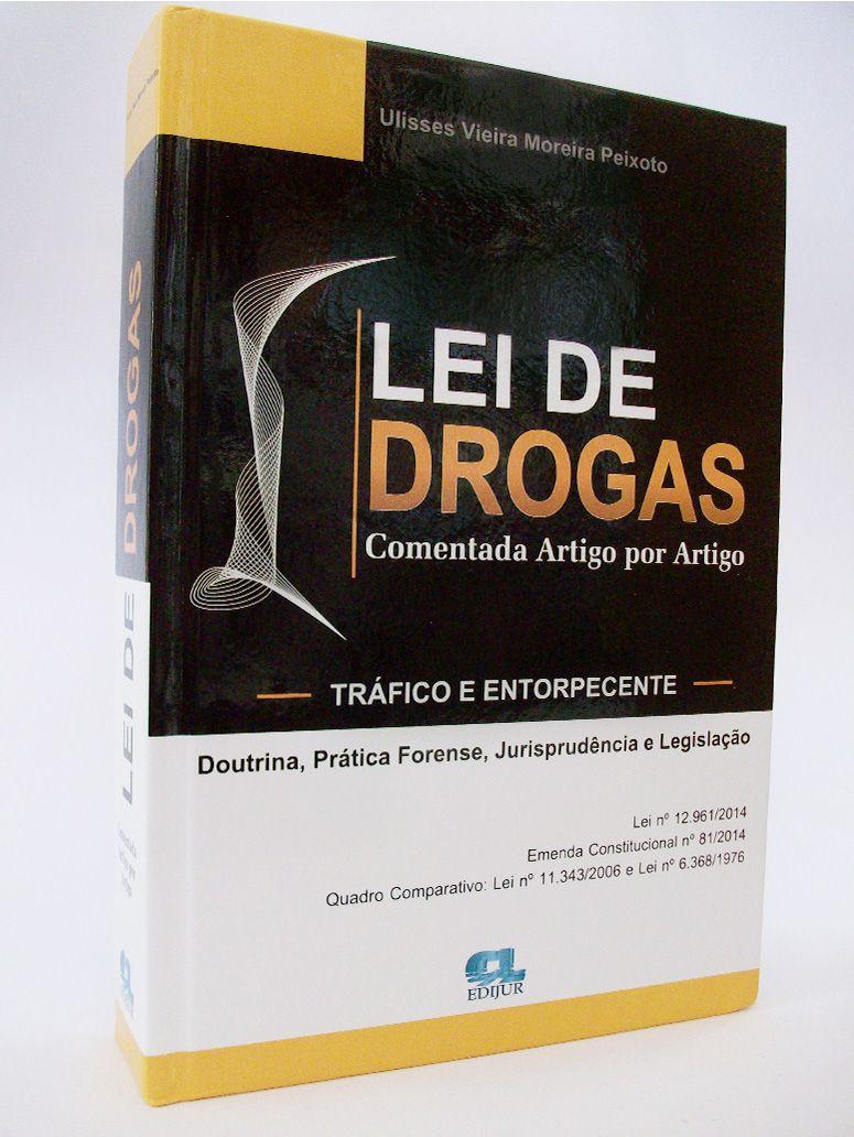 Lei de Drogas  - Edijur Editora